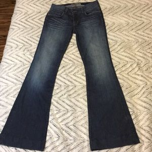 J Brand size 28 like new Lovestory flares